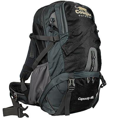 Cougar Stormpak 40étanche Sac à dos de randonnée. robuste aventure Sac à dos avec Confort Lot Système de support. Meilleur Outdoor Gear Sac pour trekking, camping et randonnée.