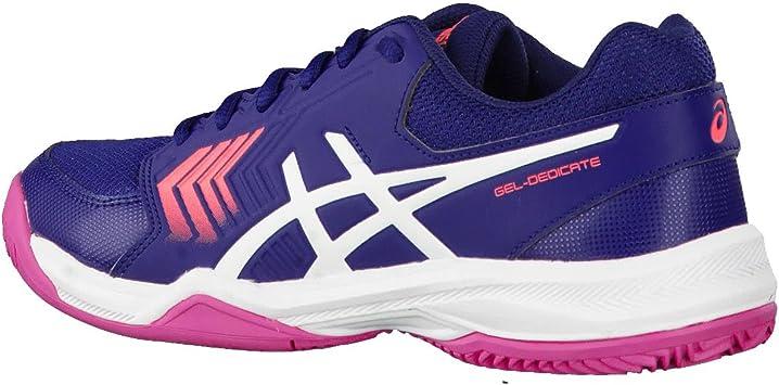 Chaussures Femme Asics Gel-dedicate 5 Clay: Amazon.es: Deportes y ...