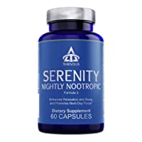 Serenity Nightly Nootropic - Enhance Relaxation, Sleep & Next-Day Focus - Advanced...