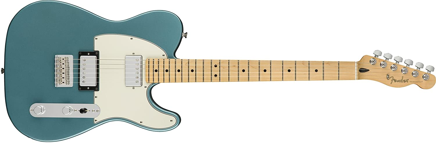 Fender エレキギター Player Telecaster® HH, Maple Fingerboard, Tidepool B07CXGLWC7  タイドプール
