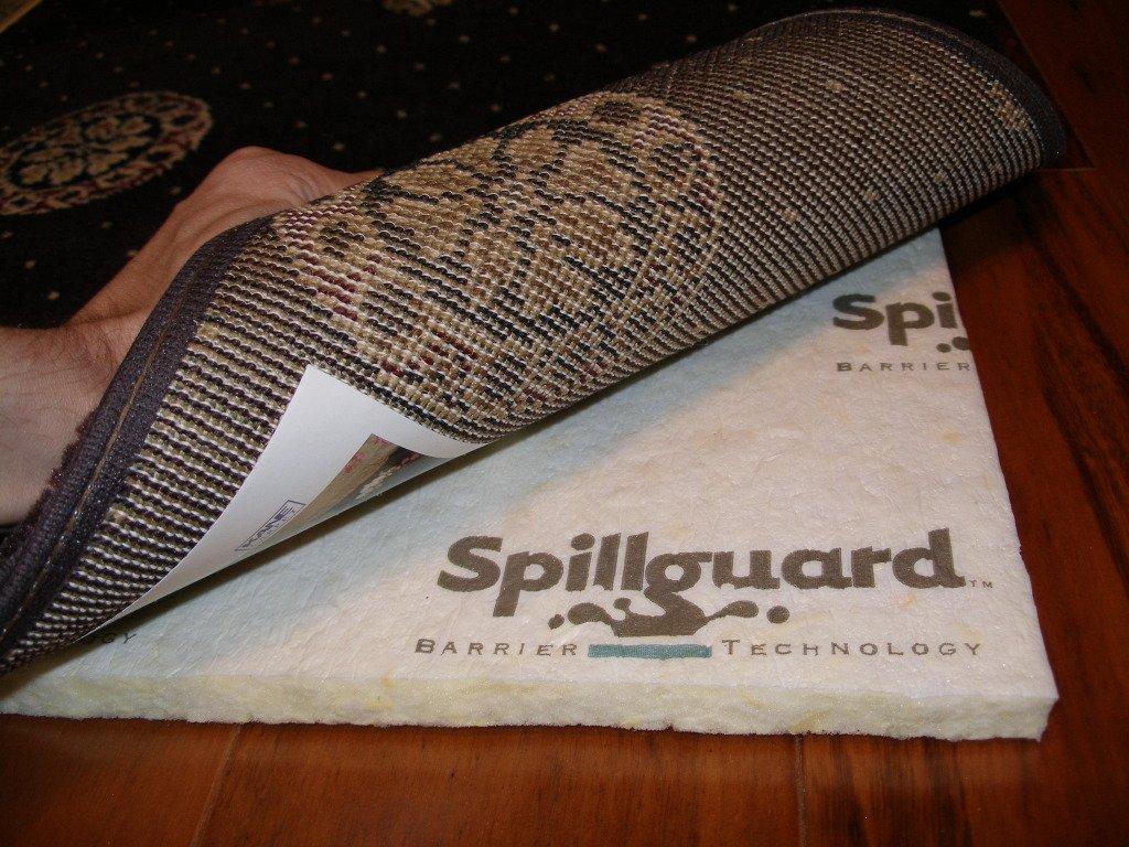 Carpenter, 9'x12', 1/2'' Visco- Elastic Memory Foam, Spillguard DuPont Barrier Rug Pad