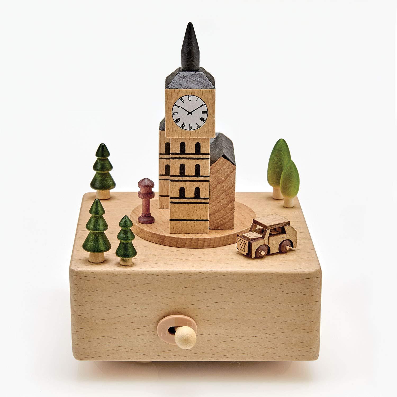 【使い勝手の良い】 ART & ARTIFACT ART 木製ビッグベン オルゴール - ゴッドセイヴザクイーン オルゴール ウィンドアップ ブナウウッド & ロンドン イングランド コレクターズアイテム。 B07JH9VZMQ, LEARNER'S BOOKS:7b7c6186 --- arcego.dominiotemporario.com