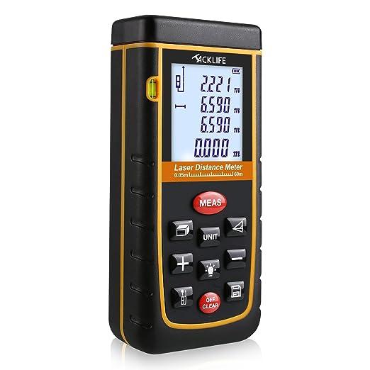 252 opinioni per Tacklife A-LDM02 60m Telemetro Distanziometro Laser Professionale Misuratore