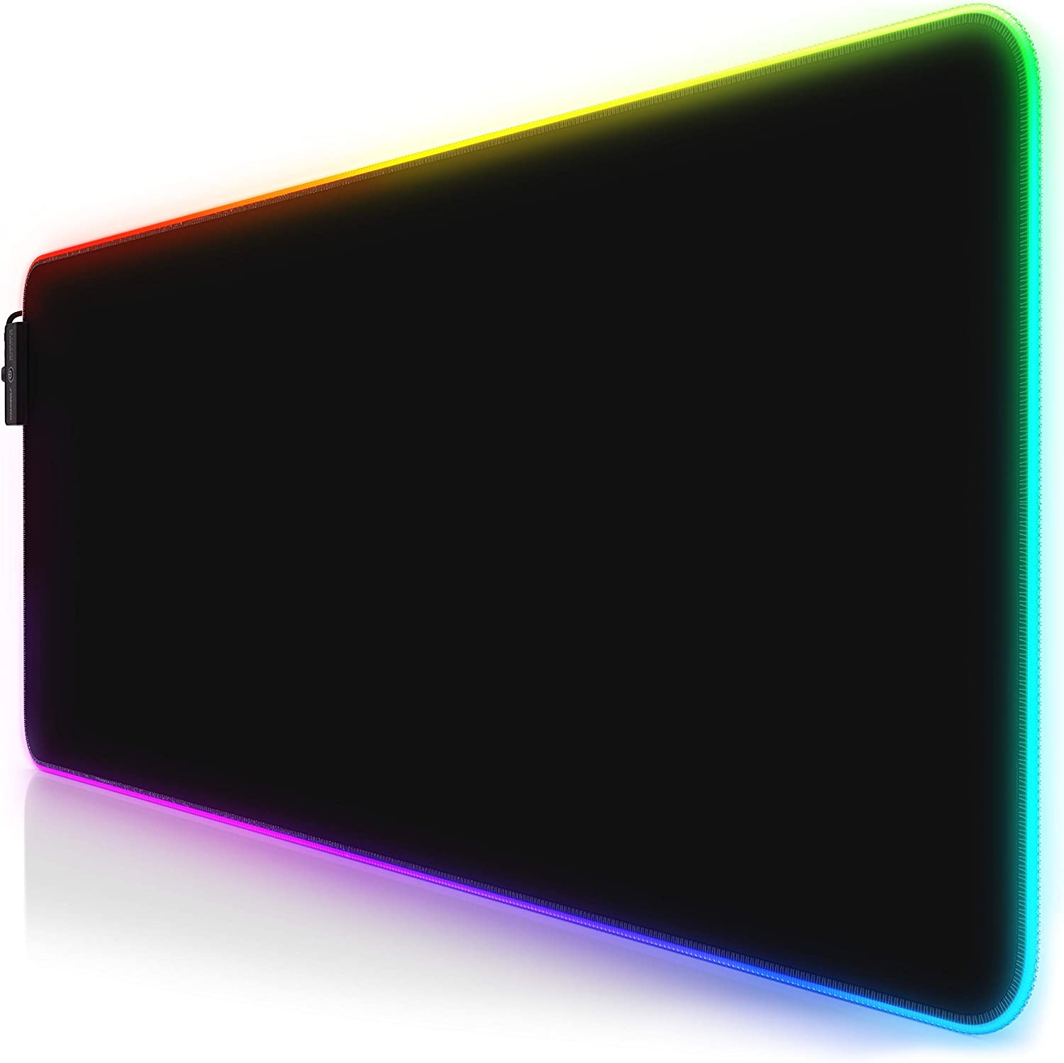 800x300 mm Computer Keyboard Mice Mat for Macbook PC Non-Slip Rubber Base XXXL Extended Large LED Mousepad Black 11 Multi colors and effect modes TITANWOLF XXL RGB Gaming Mouse Mat Pad