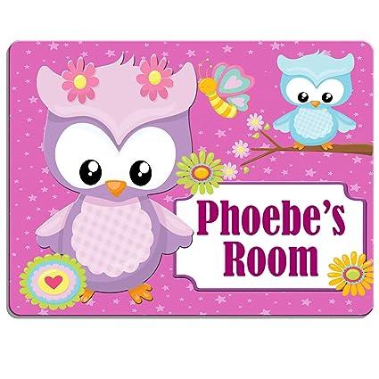Personalised Children/'s Door Sign Bedroom Door Plaque Nursery Door Sign