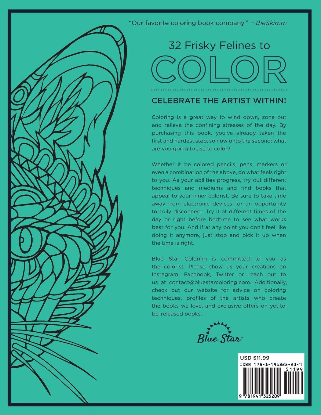 Amazon.com: Adult Coloring Book: Stress Relieving Cats ...