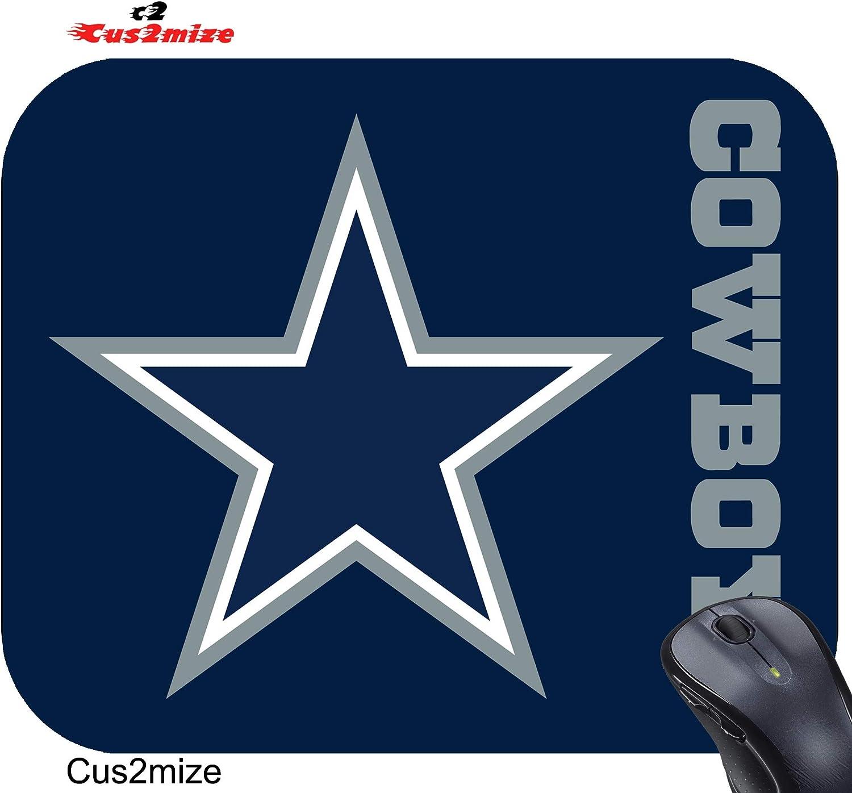 Sold by Cus2mize 0723736679608 Dallas Cowboys Mouse Pad Dallas Cowboys Mousepad
