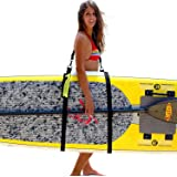 SUP-NOW Paddleboard Carrier SUP Carrying Strap to Carry Paddleboard Paddle Board Accessories for Women and Men