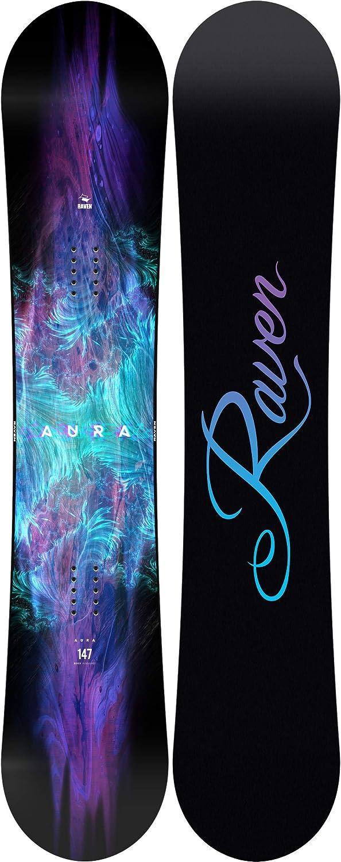 Snowboard Aura RAVEN Snowboard Set Bindung Fastec FT270 White//Blue//Violet