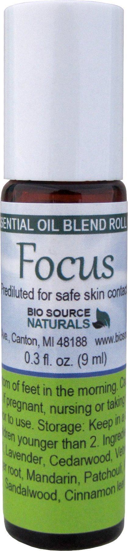 Focus Essential Oil Blend Roll 9ml / 0.3 Oz