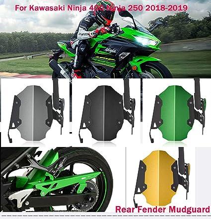 Motocicleta 400 ninja cubierta de la rueda trasera ...