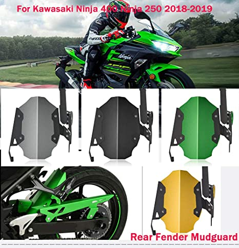Amazon.com: Motorcycle 400 ninja Rear Wheel Cover Fender ...