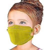 50 piezas cubrebocas kf94 , cubrebocas kf94 colores ,4 Capas de Proteccion kf94 niños certificado Mascarilla Facial para…