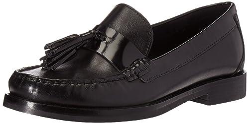 Mocasines para Mujer, Color Negro, Marca GEOX, Modelo Mocasines para Mujer GEOX D Promethea Negro: Amazon.es: Zapatos y complementos