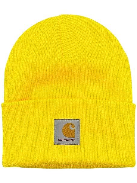 comprare nuovo stili freschi stile squisito Carhartt - Berretto in maglia - Uomo giallo Taglia unica: Amazon ...