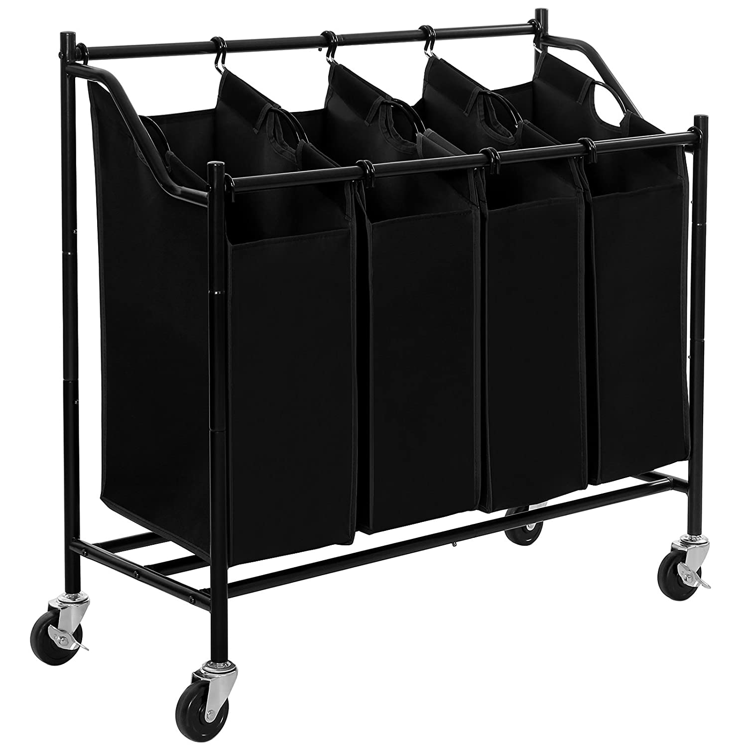 2018 Best 4 Bag Laundry Sorter Cart Reviews Finderists