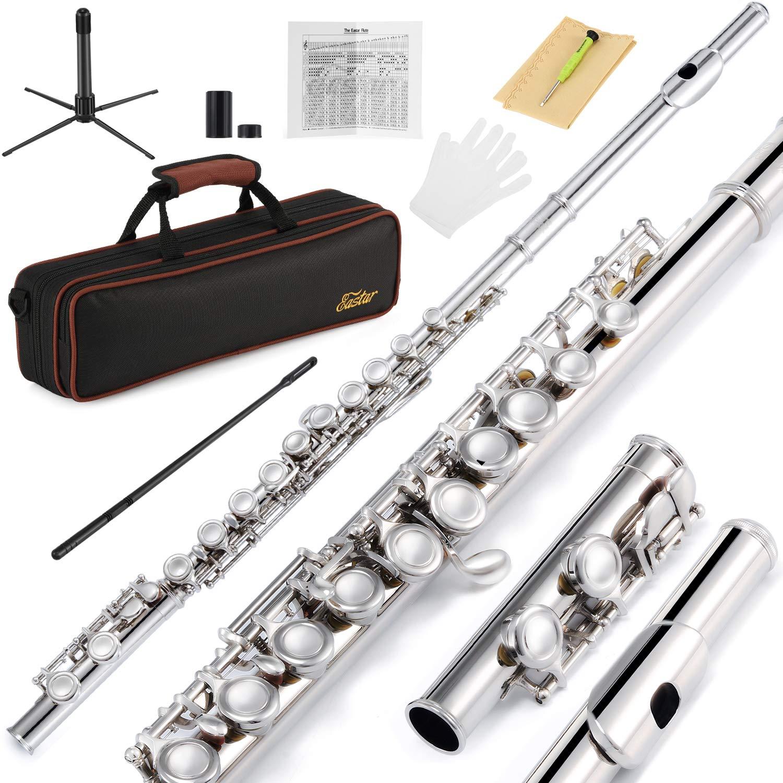 Juego De Flauta De Niquel Para Principiantes 16 Llaves Xmp