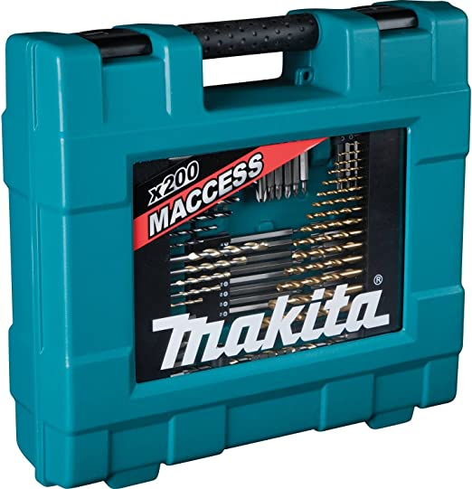 Makita D-37194 - Maletín de accesorios 200pcs: Amazon.es ...