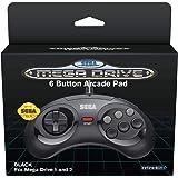 Retro-bit 6-Button Arcade Controller for Sega Mega Drive