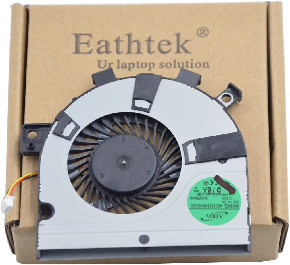 Eathtek Replacement CPU Cooling Fan for Toshiba E45T E45t-A4200 E45T-A4300 AB07505HX060300 Series