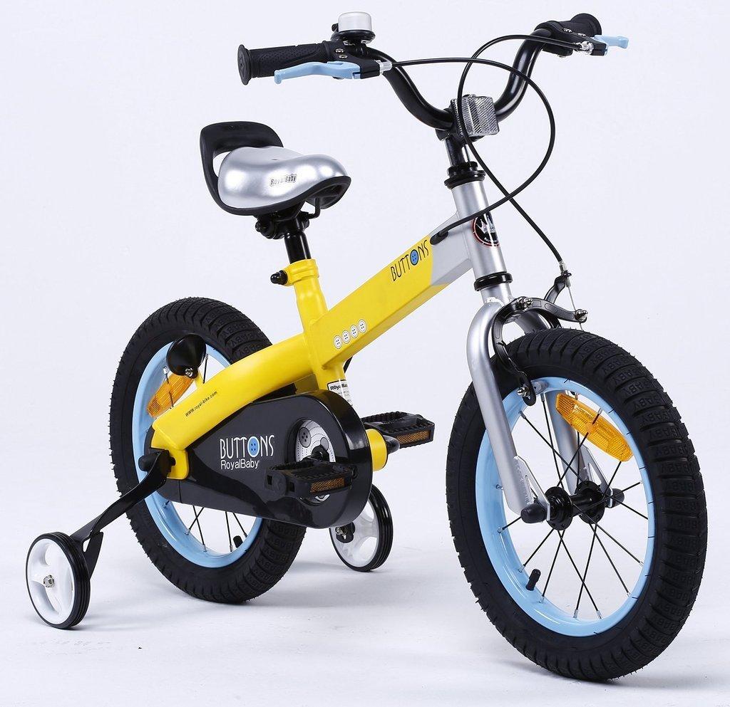 costo real MATTamarillo FRAME-azul RIM BUTTON-16 BUTTON-16 BUTTON-16 Y & Y TOY STORE ON LINE Y &amp Royal Baby - Bicicleta BMX para niño  Venta al por mayor barato y de alta calidad.