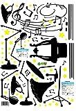 BIBITIME Music Classroom Crazy Rock Musical
