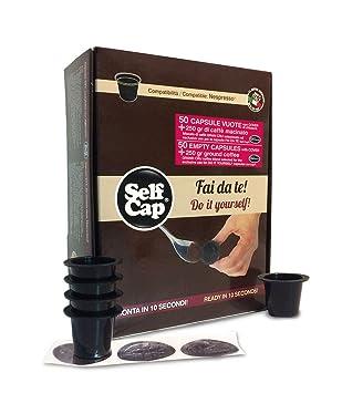 Kit Nespresso selfcap Barista compuesto de 50 Cápsulas y 250 gr. Café Molido Gran Cru: Amazon.es: Hogar