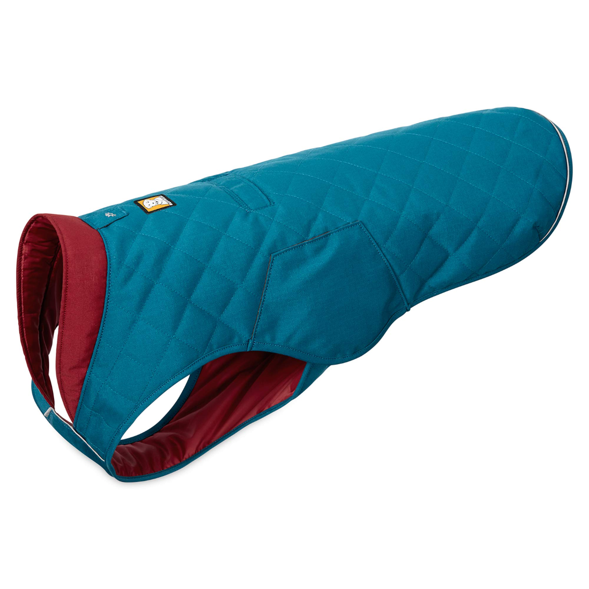 RUFFWEAR - Stumptown Insulated, Reflective Cold Weather Jacket for Dogs, Metolius Blue, Small