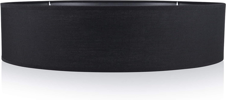 Smartwares Plafón Mia 6000.543 de Ranex, 40 cm, Negro: Amazon.es: Iluminación