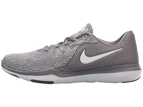 1f06a1235e310 Nike Womens WMNS Flex Supreme TR 6 Gunsmoke White Atmosphere Grey Size 5.5