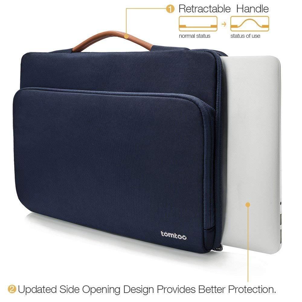 Acer Sacoche Ordinateur Portable 15 Pouces Thinkpad Gris Dell Samsung Ultrabooks ASUS 【15-15.6 Pouces】 tomtoc Housse de Protection /à 360/° pour 15-15.6 Pouces Odinateur Portable HP