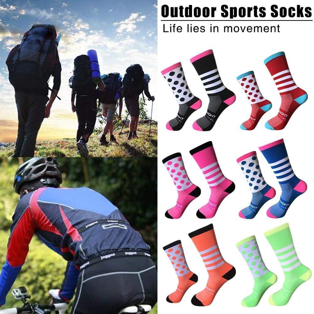 Men /_ Femmes Équitation Cyclisme Sports épaissir Chaussettes Respirant Vélo Chaussures unseix