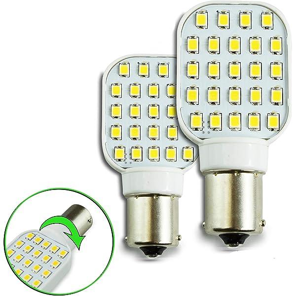Super Bright LED exterior interior porch light bulbs RV motor home camper lights