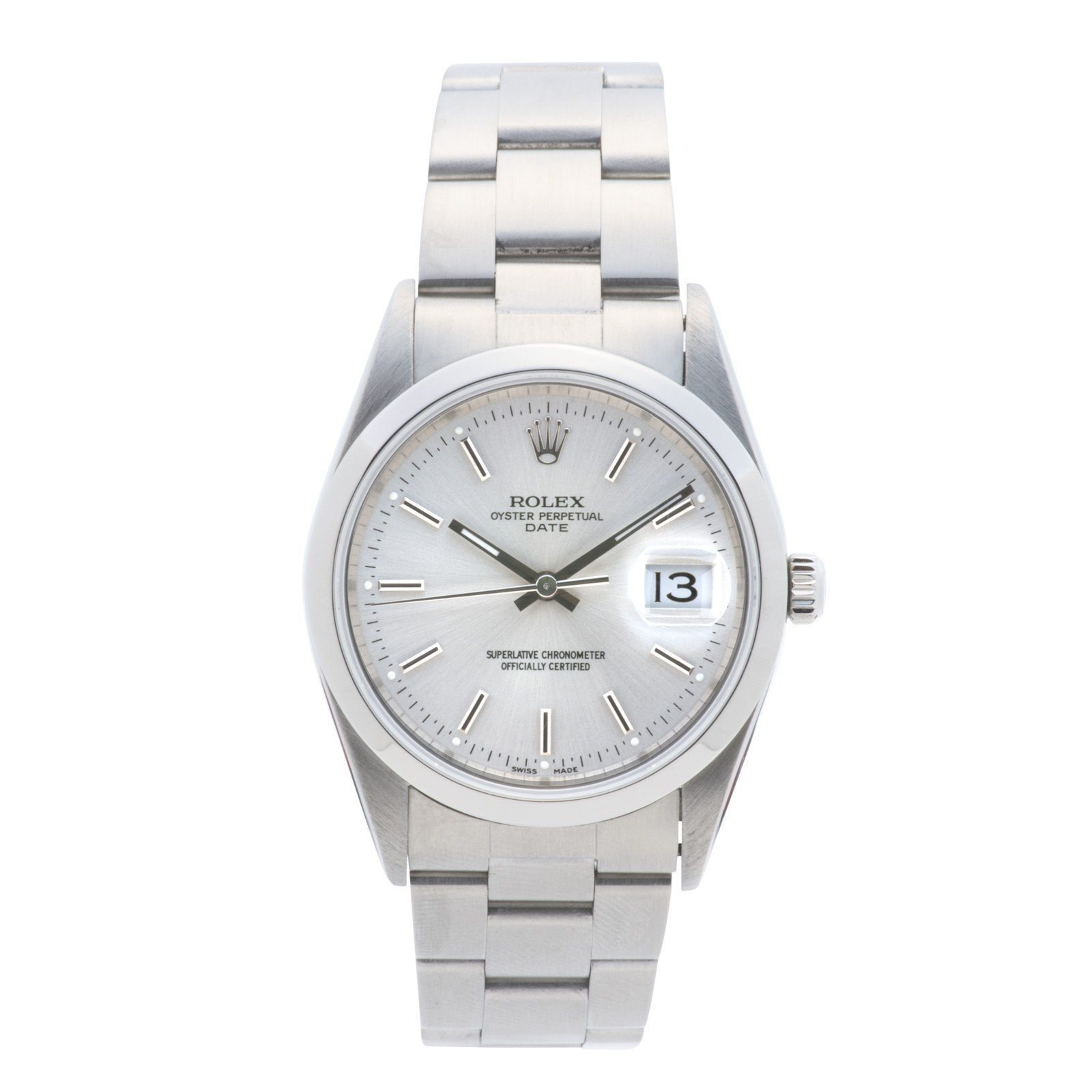 Rolex Datejust automatic-self-wind mens Watch 15200 (Certified Pre-owned)