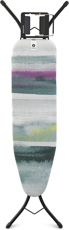 Brabantia Mesa de Planchar A con Soporte Plancha Vapor, Morning Breeze, 110 x 30 cm