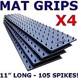 Pack of 4 Anti Slip Carpet / Rugs Grippers (300) Carpet / Rug / Mat Grip