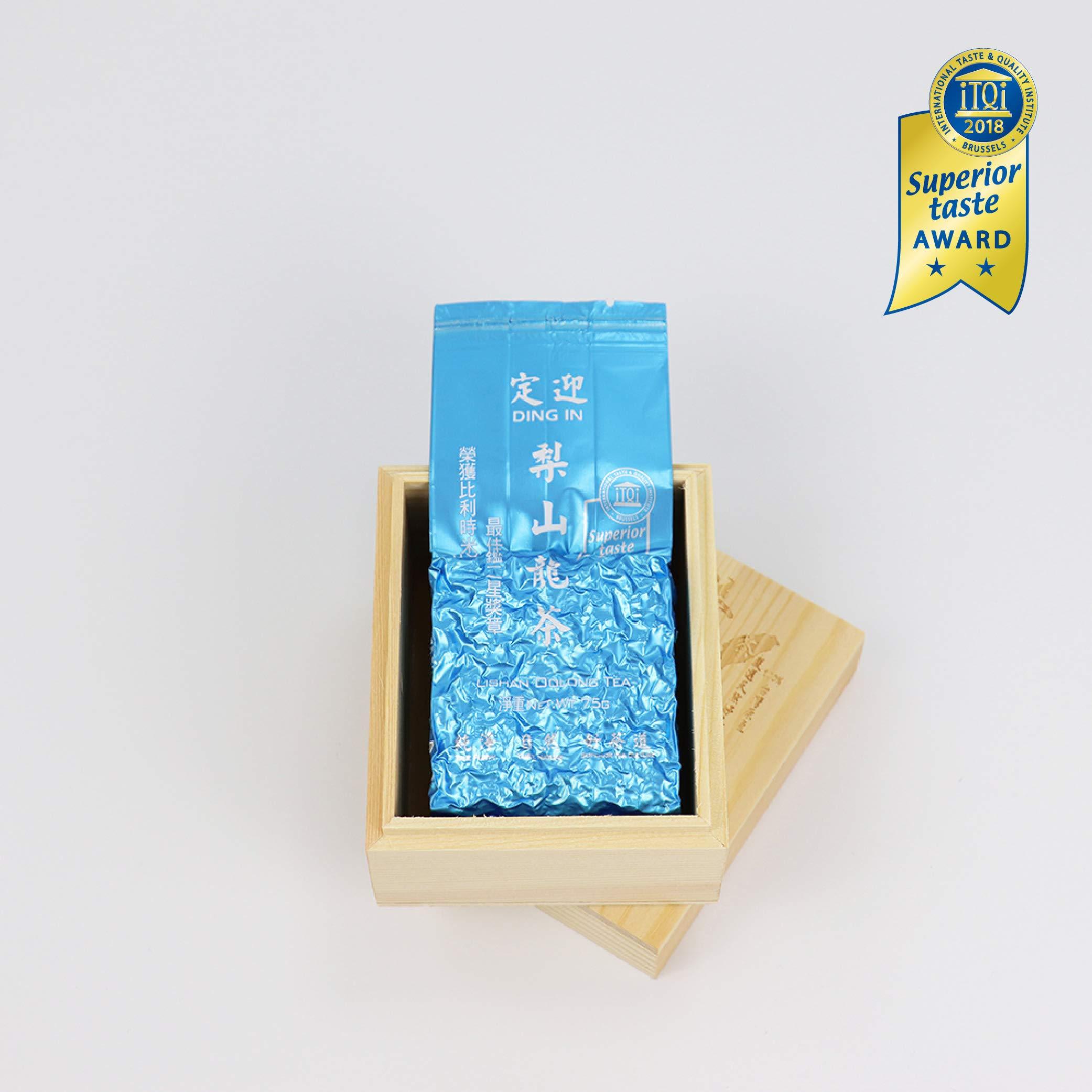 DING IN Lishan Oolong Tea Pine Box 75g/box