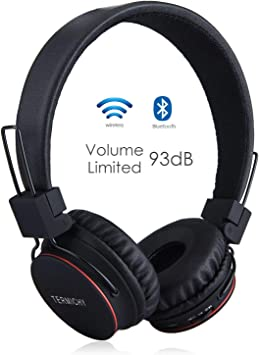 Auriculares Inalámbricos Bluetooth para Niños Adulto, Cascos ...