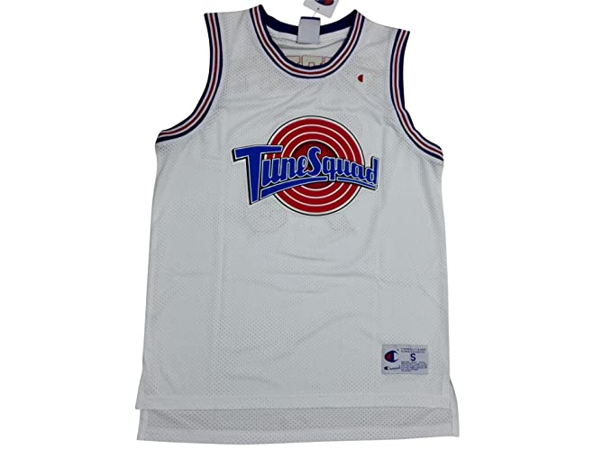 39cf7c926d7 Amazon.com  Space Jam  1 Bugs Bunny Basketball Jersey Tune Squad + Mr. Sport  box as a gift (White