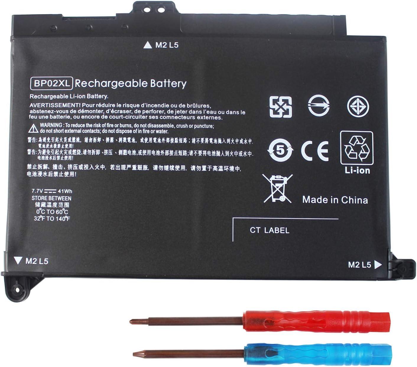 BPO2XL BP02XL 849909-850 Battery Replacement for HP Pavilion Notebook PC 15 Series 15-AU000 15-AW000 15T-AW000 15-AU018WM 15Z-AW000 Series 15-AU063CL 15-AU091NR 15-AU010WM 849569-421 849909-855