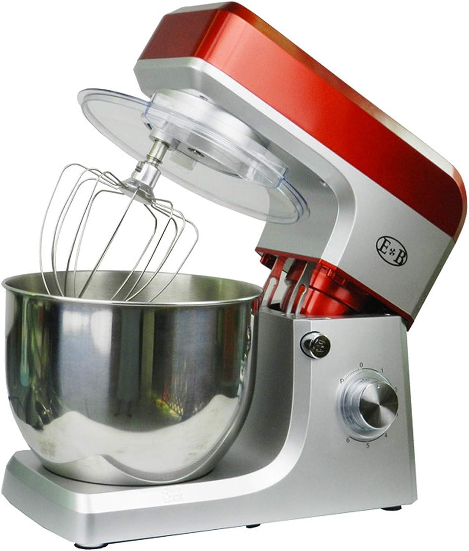 1200W Batidora Amasadora, Profesional Amasadora de pan Automática Multifuncional, Robot de Cocina,7 litros