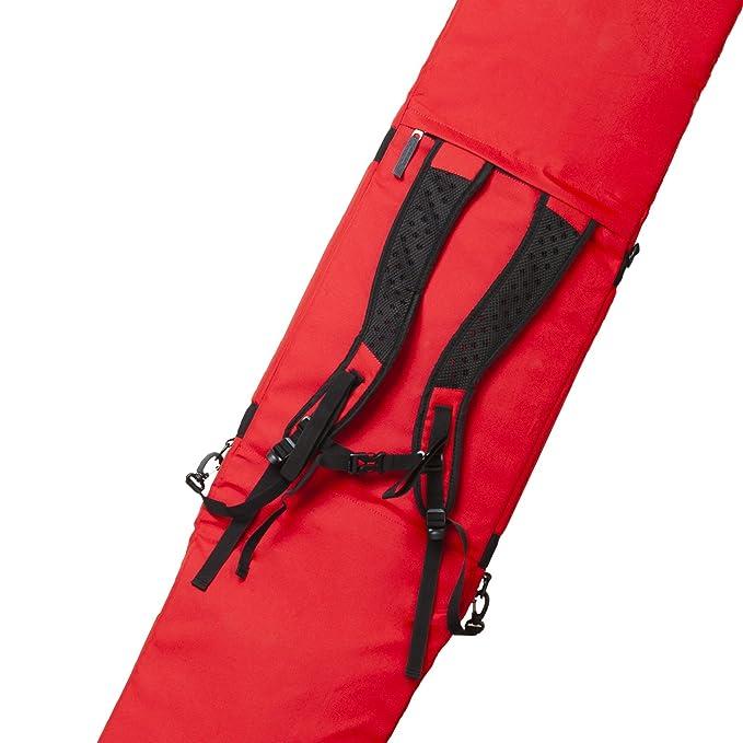 PULSE Snowboardtasche red//graphite f/ür Boards bis 175 cm Original PAUL KURZ
