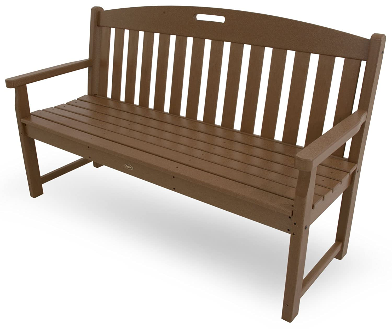 Amazon.com : Trex Outdoor Furniture TXB60TH 60-Inch Yacht Club Bench ...