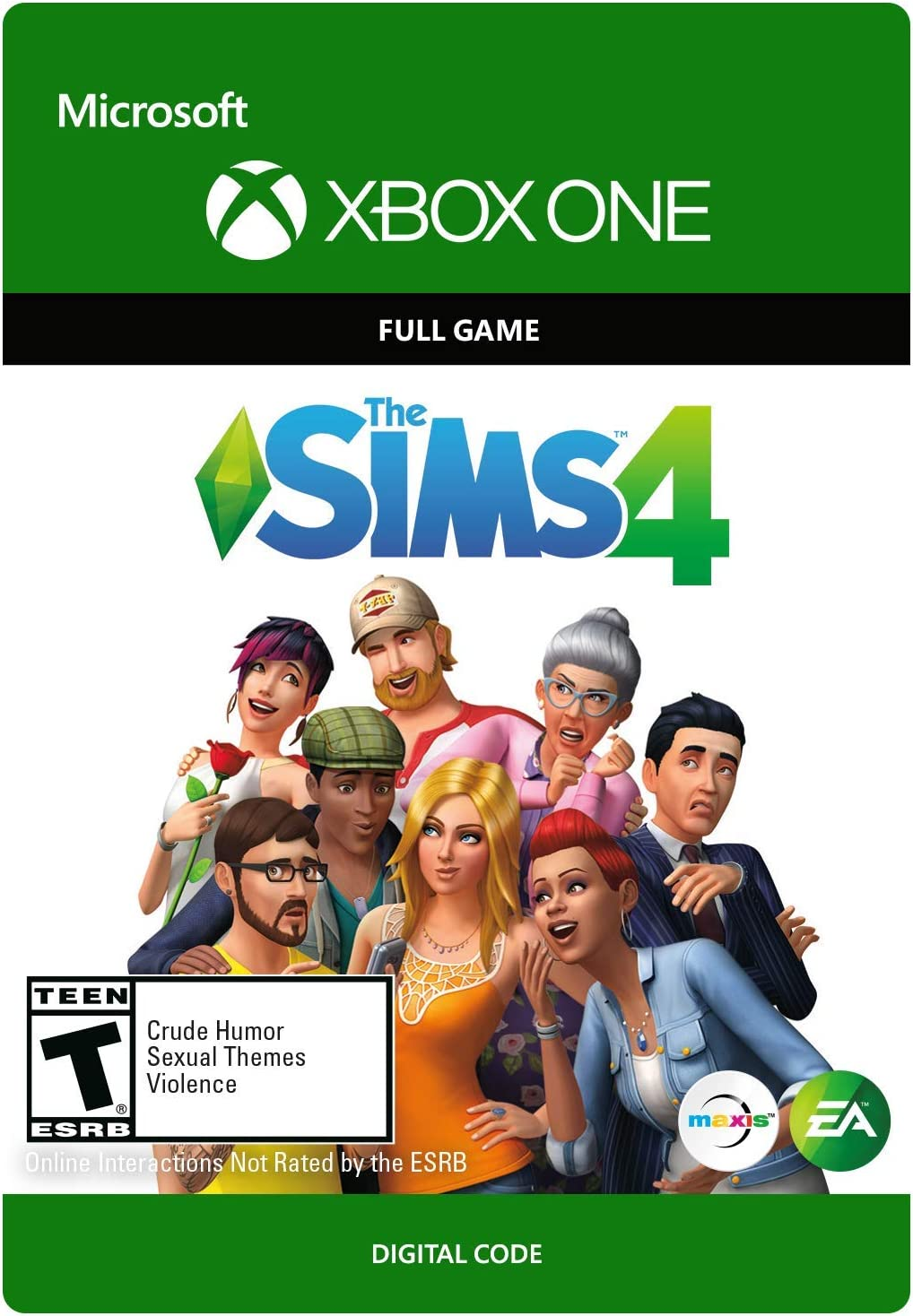Amazon.com: The SIMS 4 - Xbox One [Digital Code]: Video Games