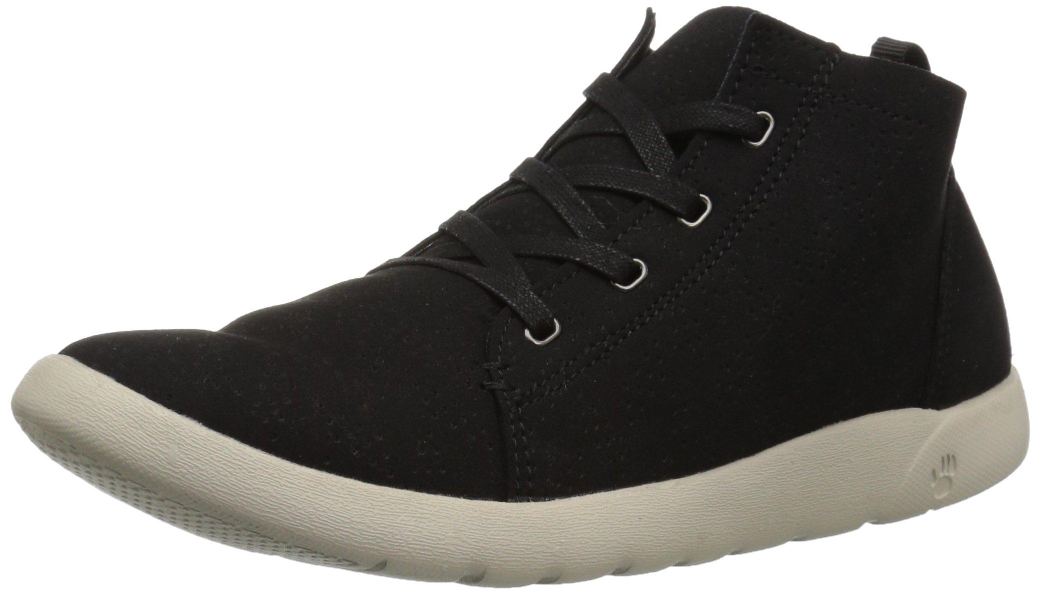 BEARPAW Women's Gracie Oxford Boot, Black, 11 M US