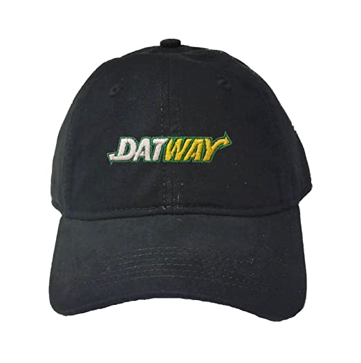 bde818b3 Amazon.com: Go All Out Adjustable Black Adult Datway Embroidered ...