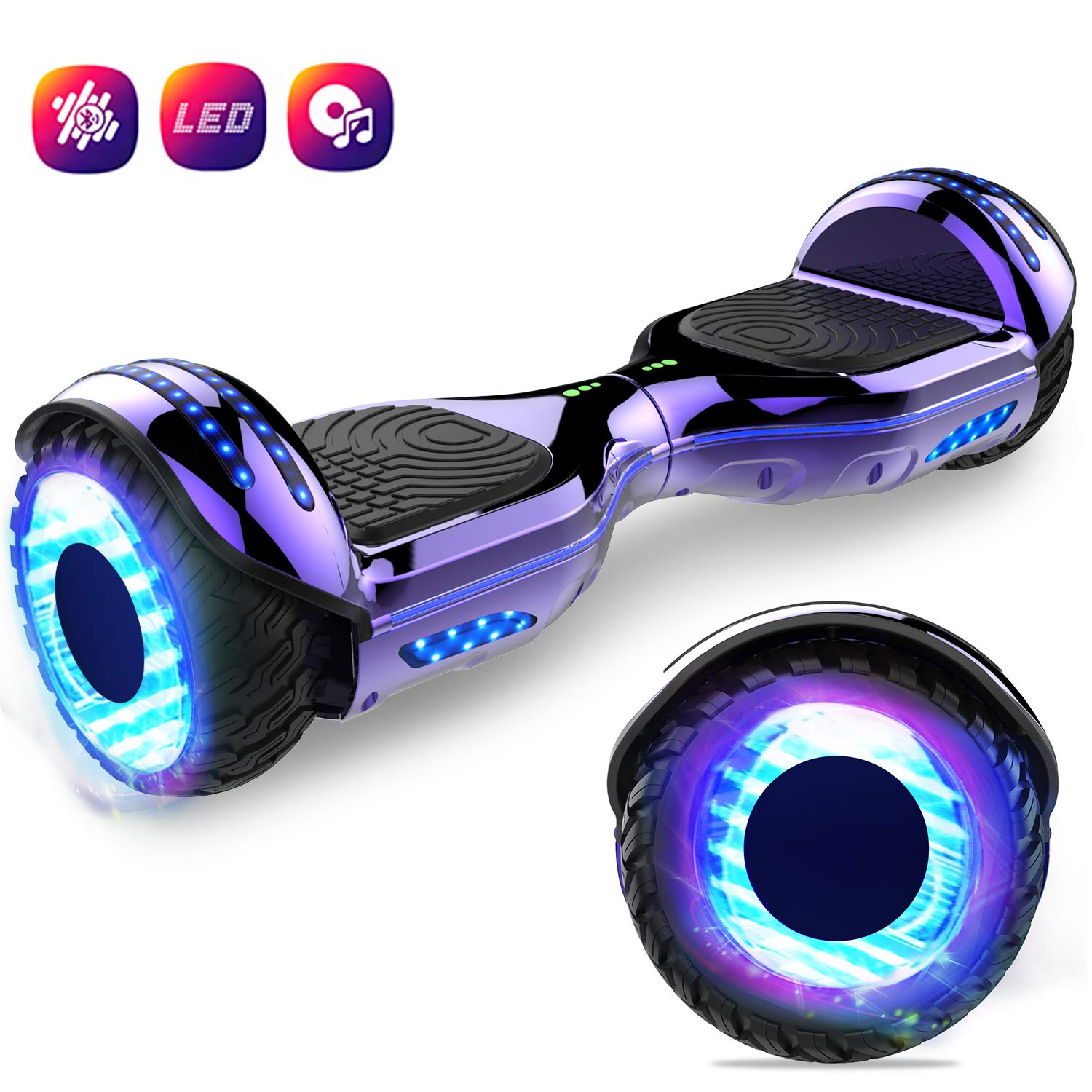 GEEKME Patinete Auto Equilibrio Scooter Eléctrico ...