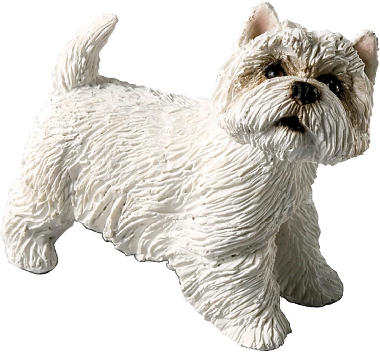 Sandicast Westie West Highland Terrier w//Red /& White Scarf Ornament Gift Dog