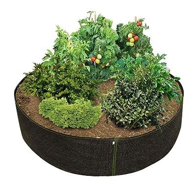 HTG Supply Phat Sacks 70-Inch Big Fabric Raised Garden Bed - 26.6 Square Foot: Garden & Outdoor
