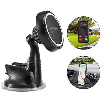 IPOW Fuerte Soporte para teléfono móvil magnético, 2 Niveles de ...